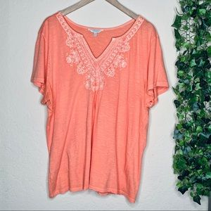 Lucky Brand boho top | plus size 2X